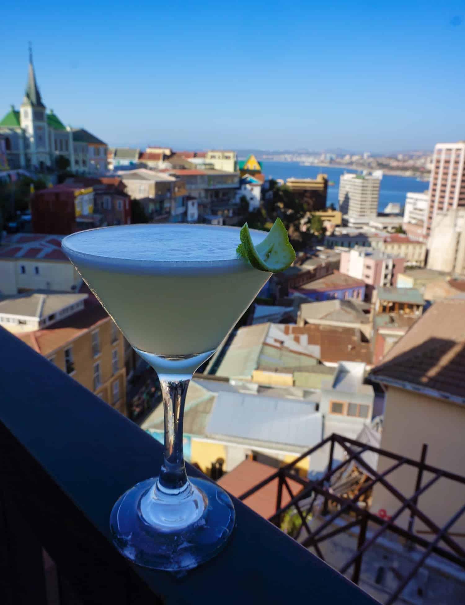 Chilean Drinks - Pisco Sour