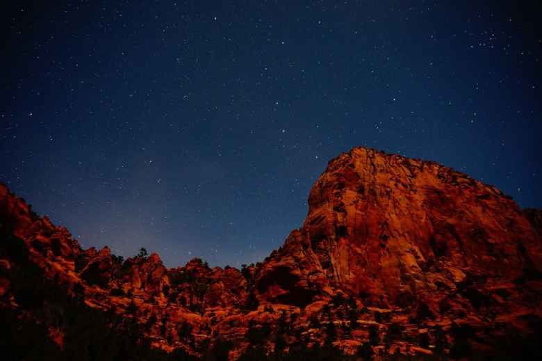 1 Day in Zion National Park - Stargazing