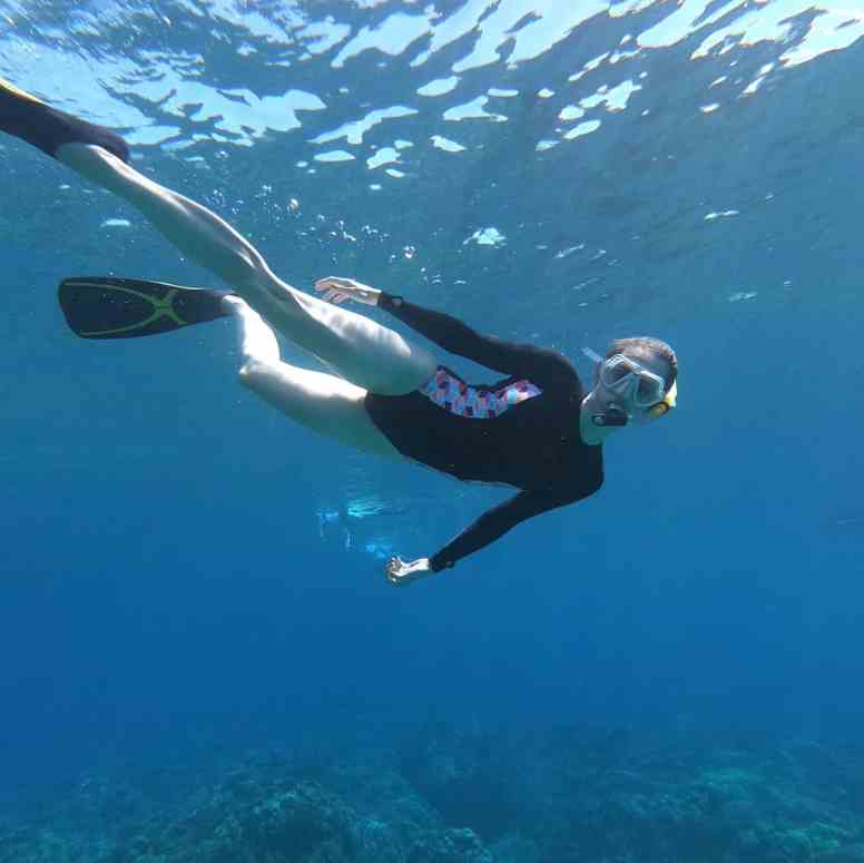 UnCruise Hawaii - Day 3 - Valerie Snorkeling