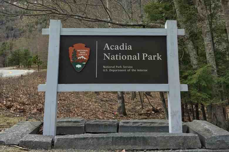 Acadia - Entry Sign