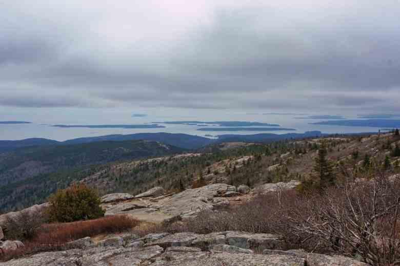 Acadia - View from Cadillac