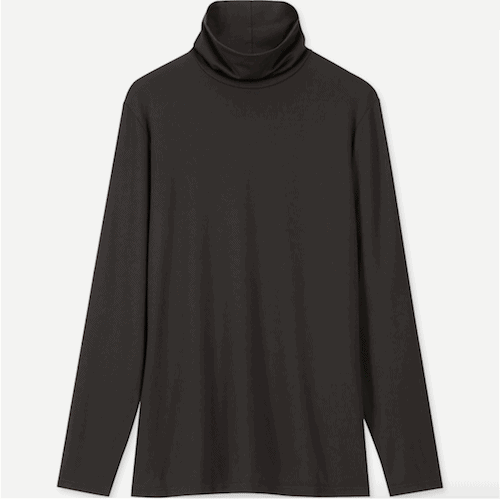 What to Wear in Alaska in the Winter - Uniqlo Heattech Top