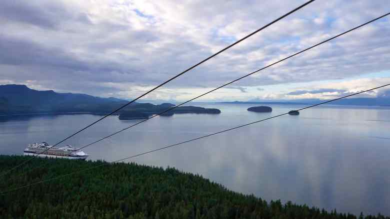 Icy Strait Point Excursions - ZipRider - Werner Bayer