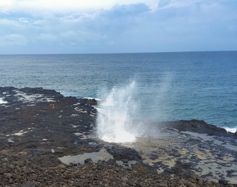Kauai Weekend - Spouting Horn