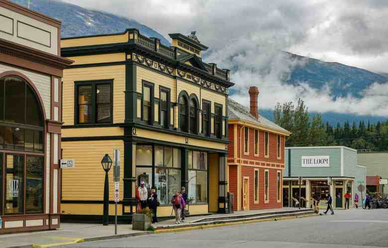 Skagway Cruise Excursions - Downtown