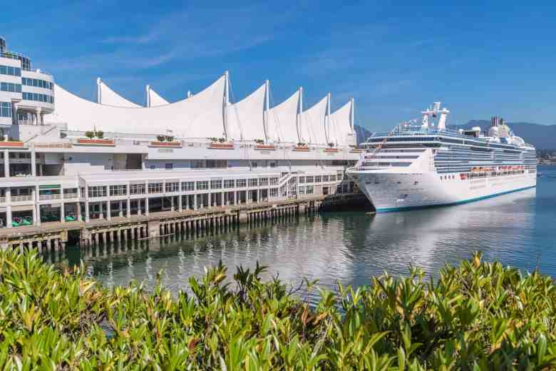Vancouver Cruise Excursions - Ship
