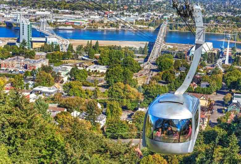 3 Days in Portland - Aerial Tram - Ian Sane via Flickr