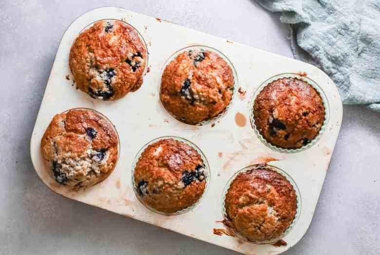 Blueberry Zucchini Muffins