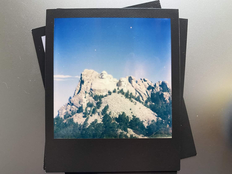 Polaroid Now Review: Mount Rushmore