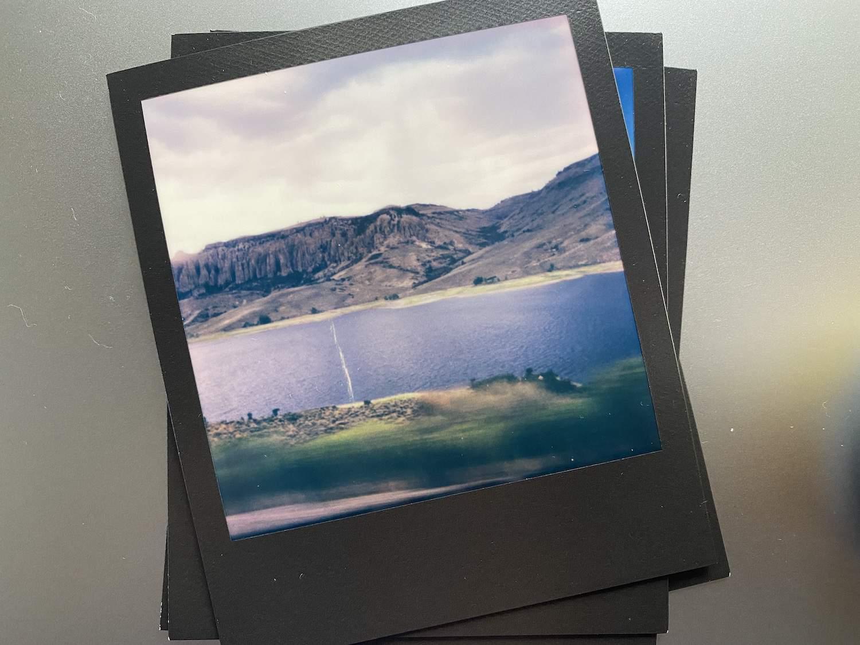 Polaroid Now: Dillons Pinnacles