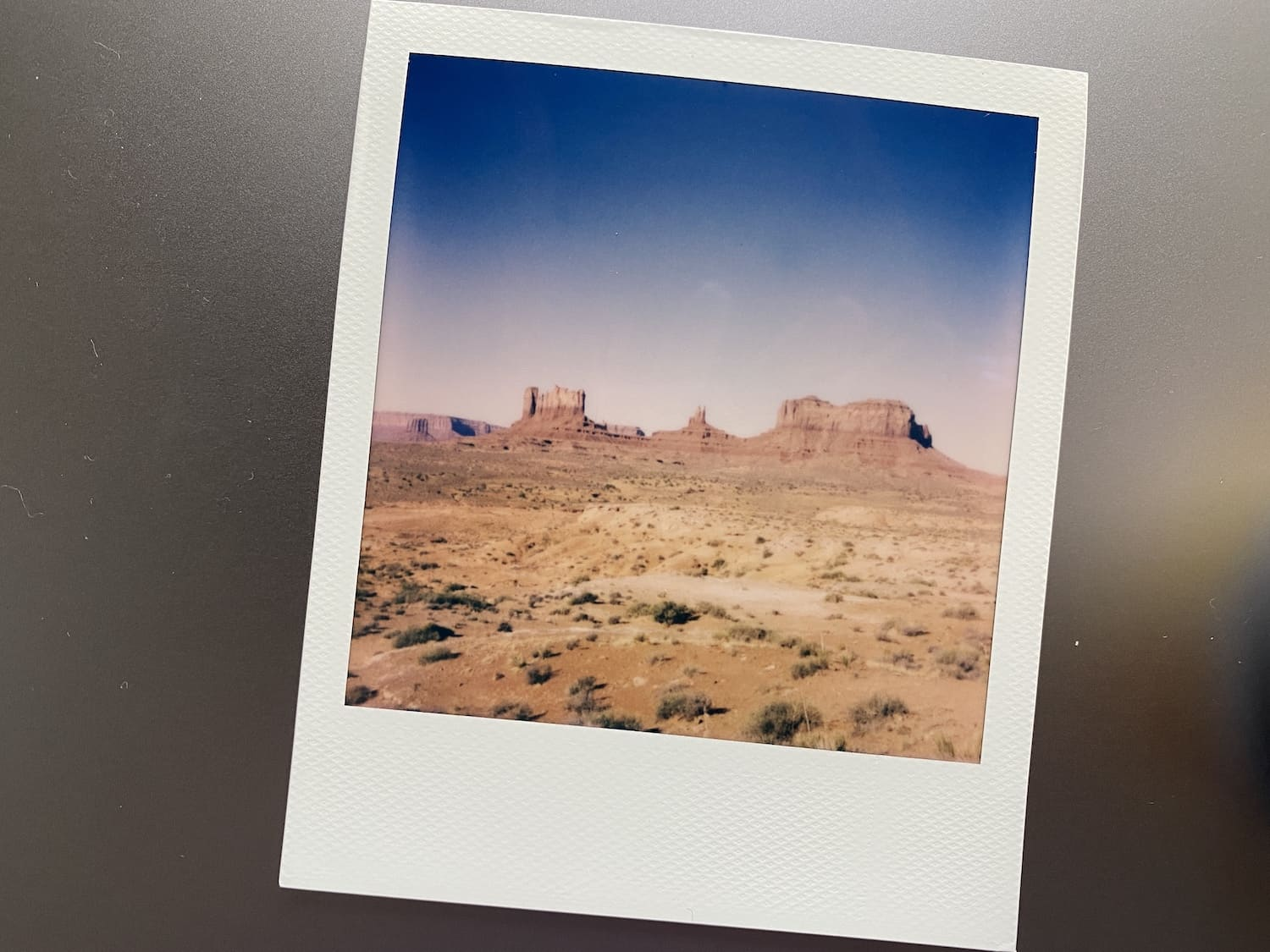 Polaroid Now Review: Monument Valley
