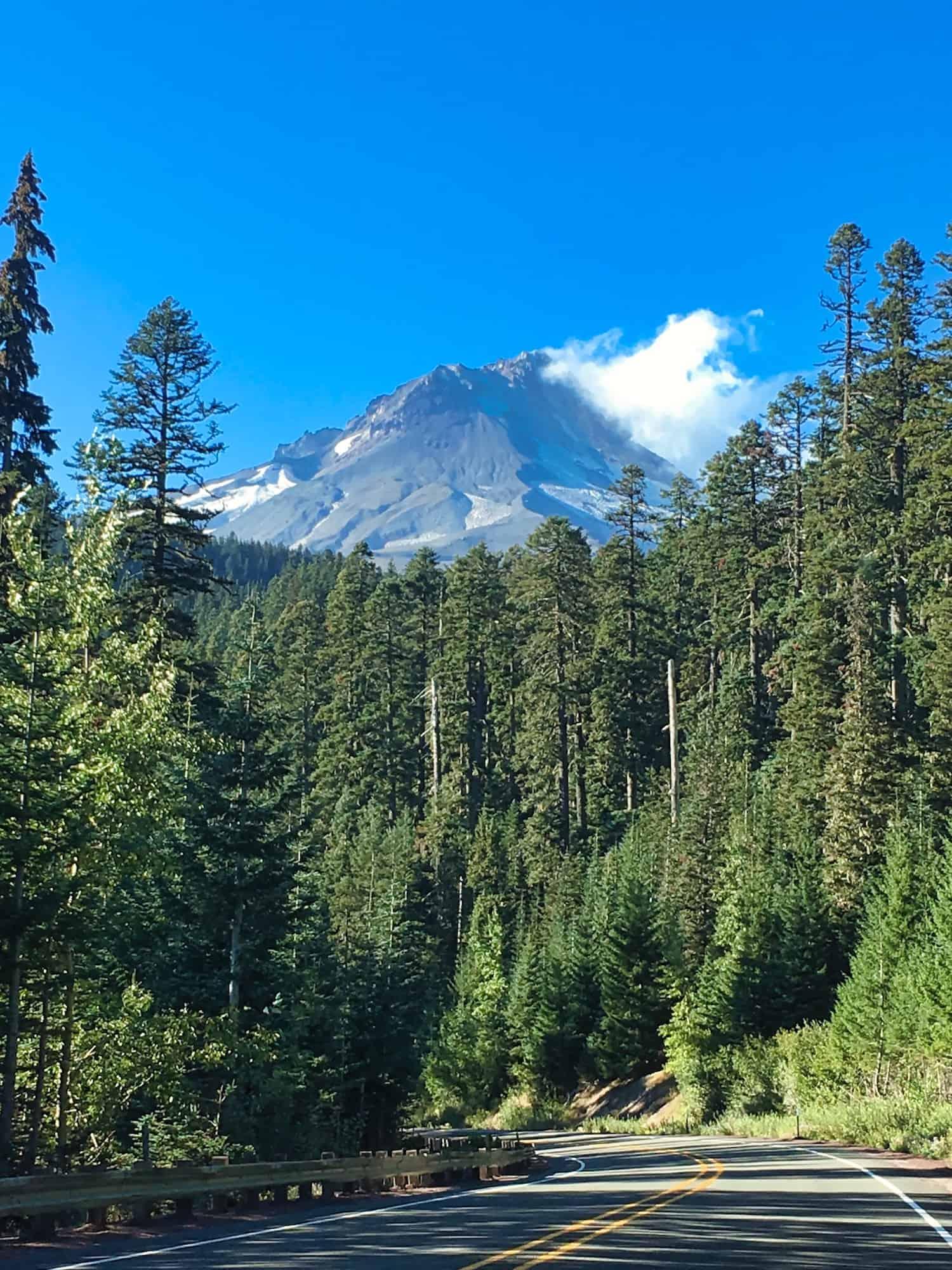 Portland Weekend Trip - Mt. Hood Road