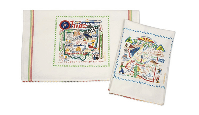 2020 Travelers Gift Guide - Travel-Inspired Gifts - State Towels