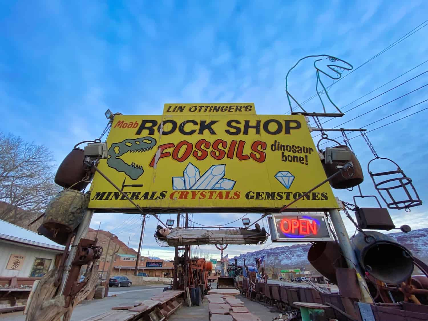 3 Days in Moab - Rock Shop