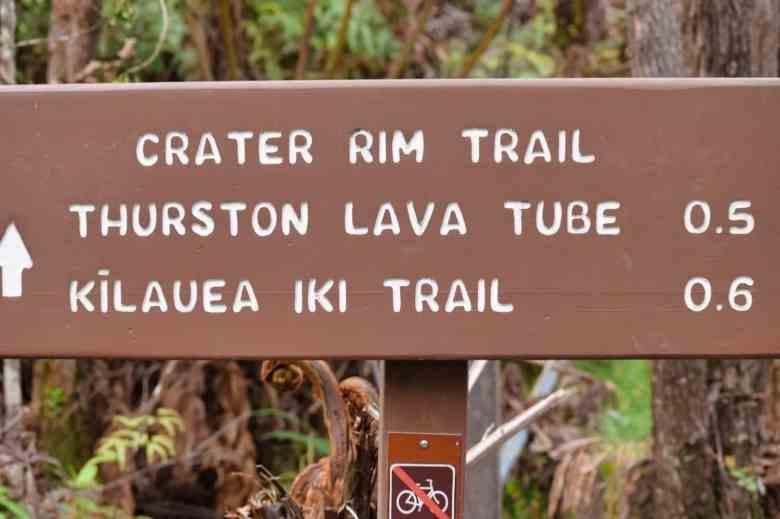 Hawaii Volcanoes - Hiking Trail Sign - Deb Nystrom via Flickr