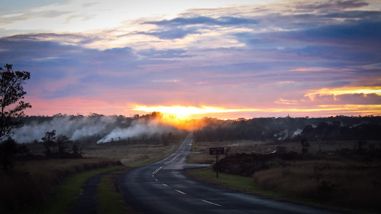 Hawaii Volcanoes National Park - Road - Nan Palmero via Flickr