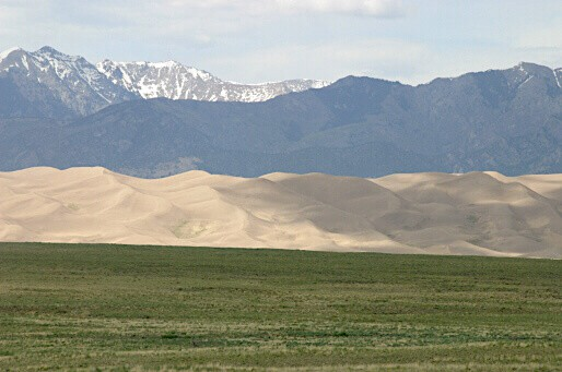 National Parks in Colorado - Great Sand Dunes