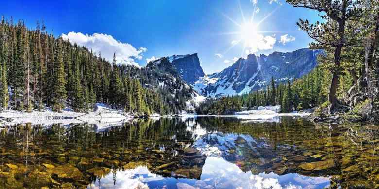 National Parks in Colorado - Rocky Mountain