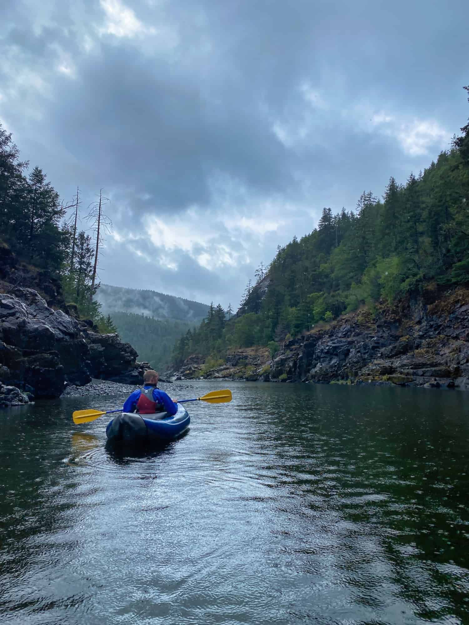 3 Days in Crescent City - Kayaking the Smith River in the rain