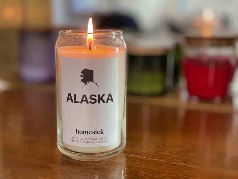 Homesick Candles Review - Alaska