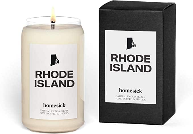 Homesick Candles Review - Rhode Island Candle