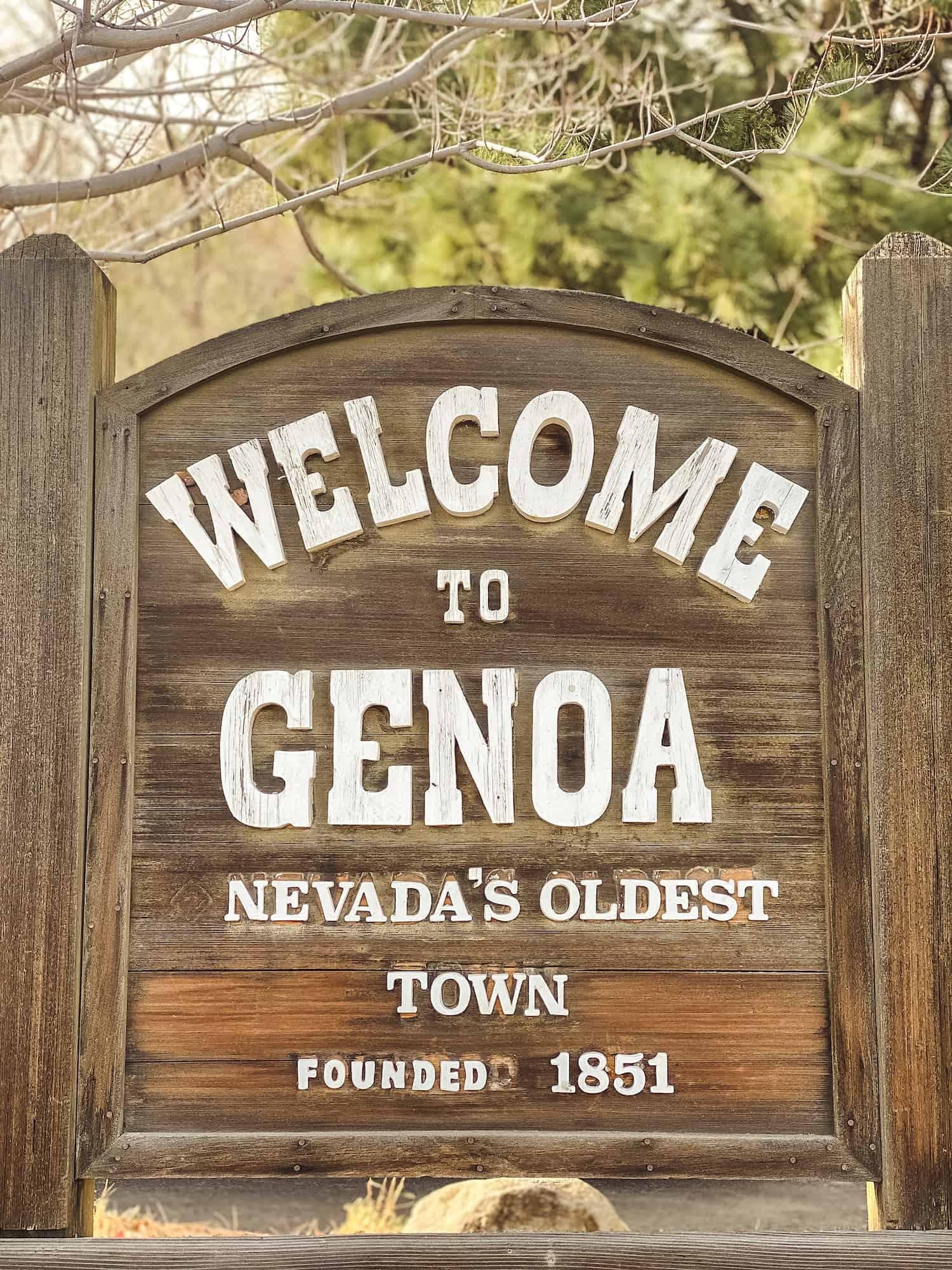 Carson Valley - Genoa