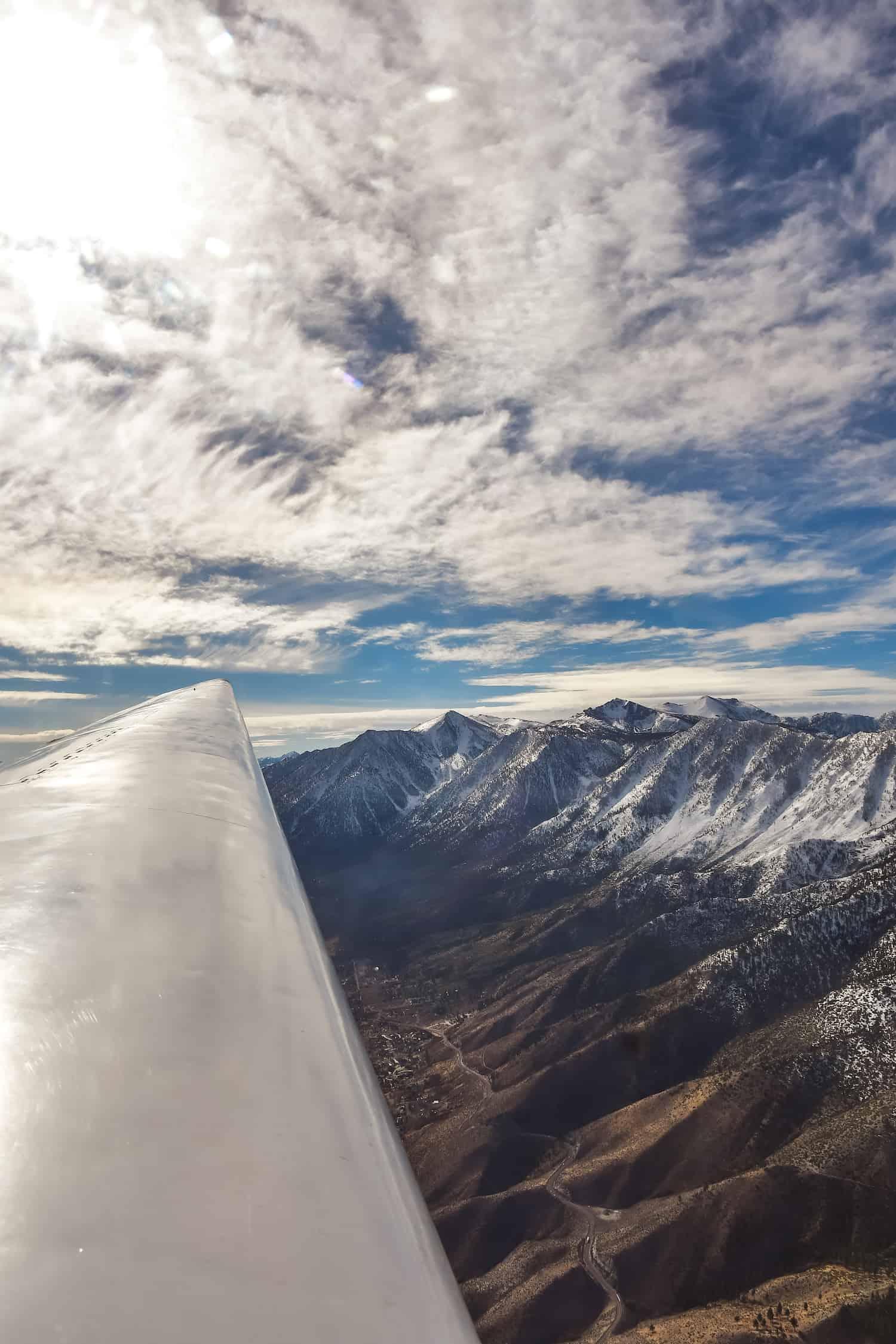 Carson Valley - Glider Ride