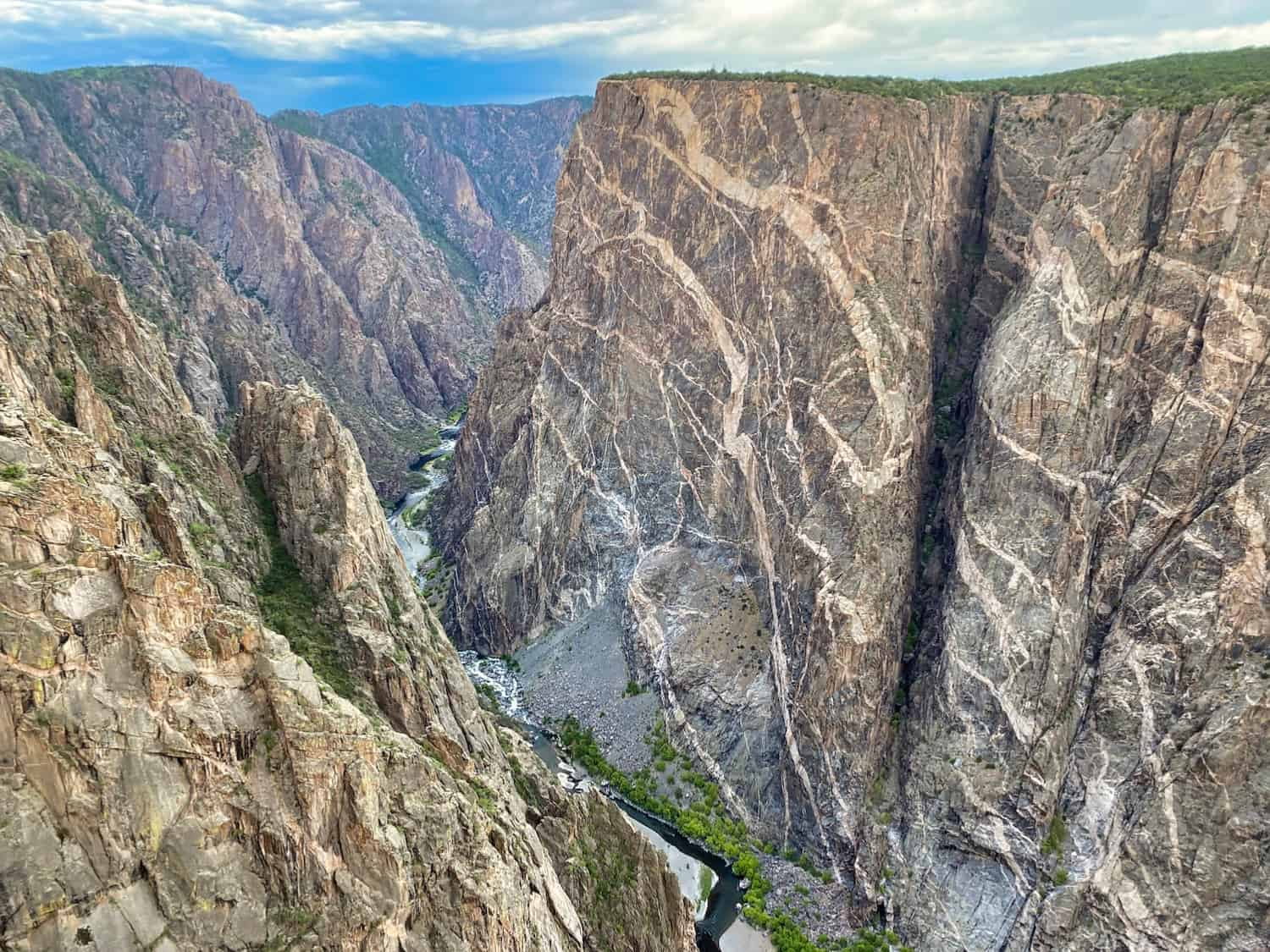 Colarado National Park - Black Canyon of the Gunnison Painted Wall