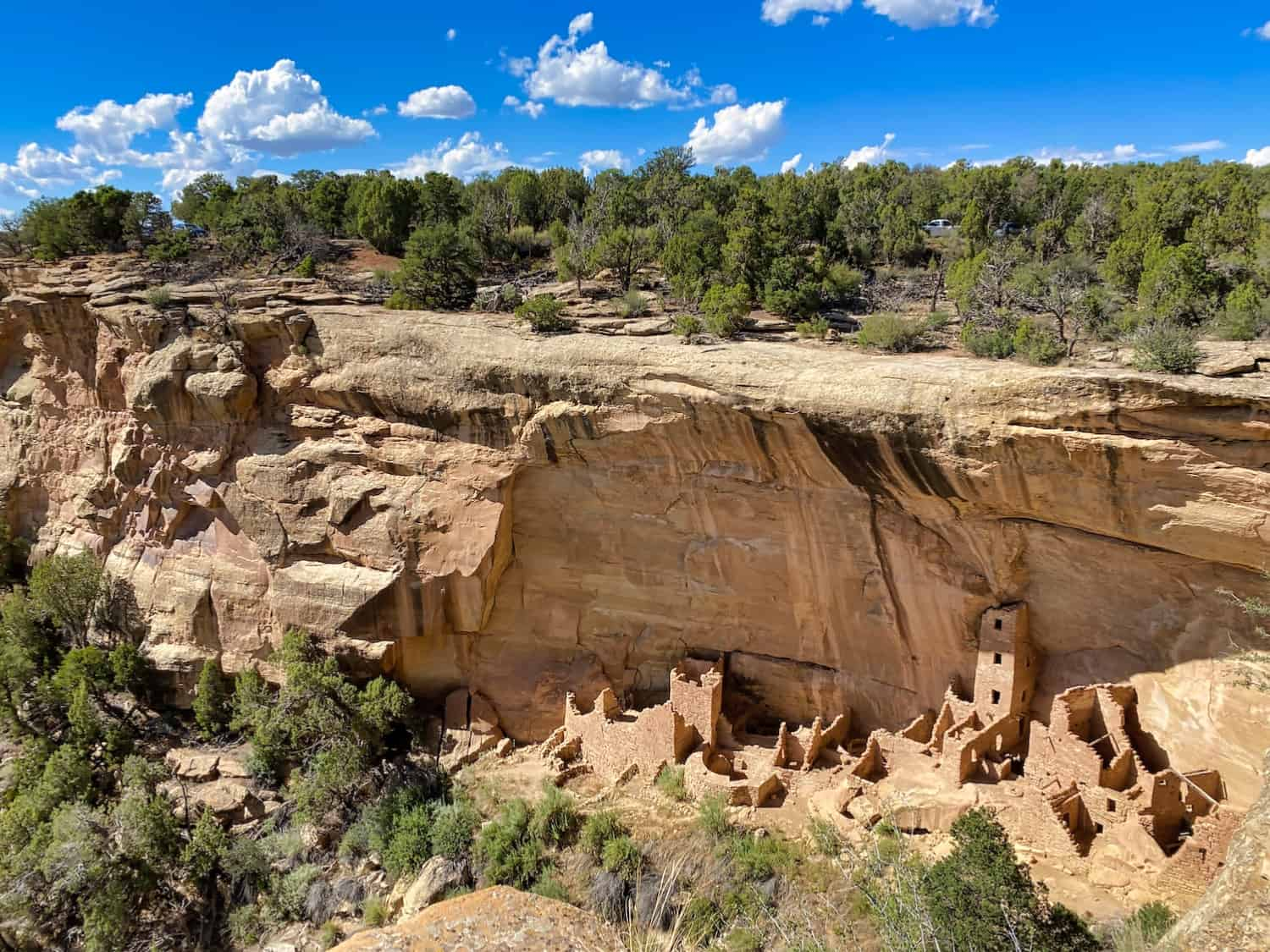 Colorado National Parks - Mesa Verde Cliff Dwelling