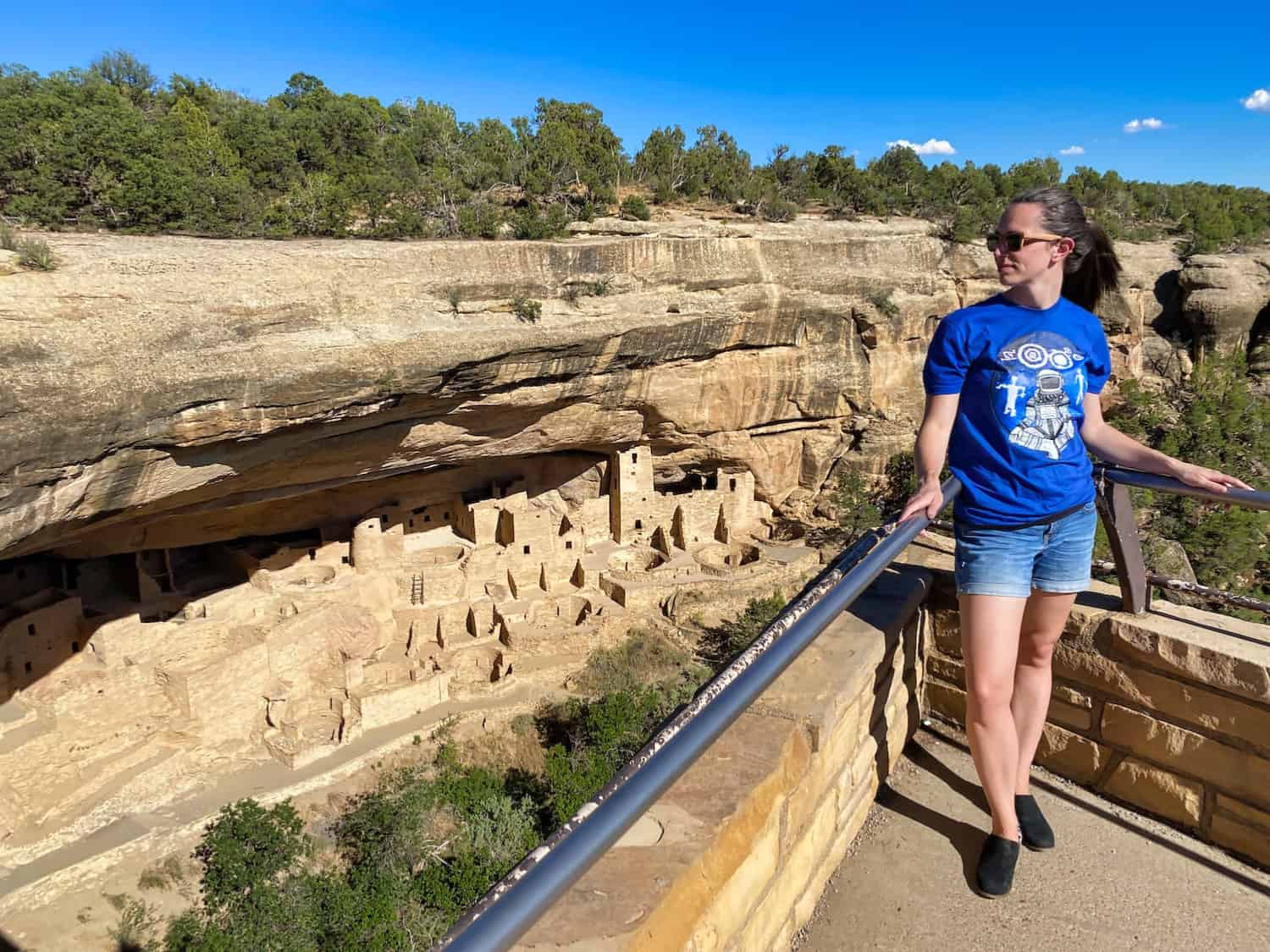 Colorado National Parks - Mesa Verde Cliff Dwelling Cliff Palace