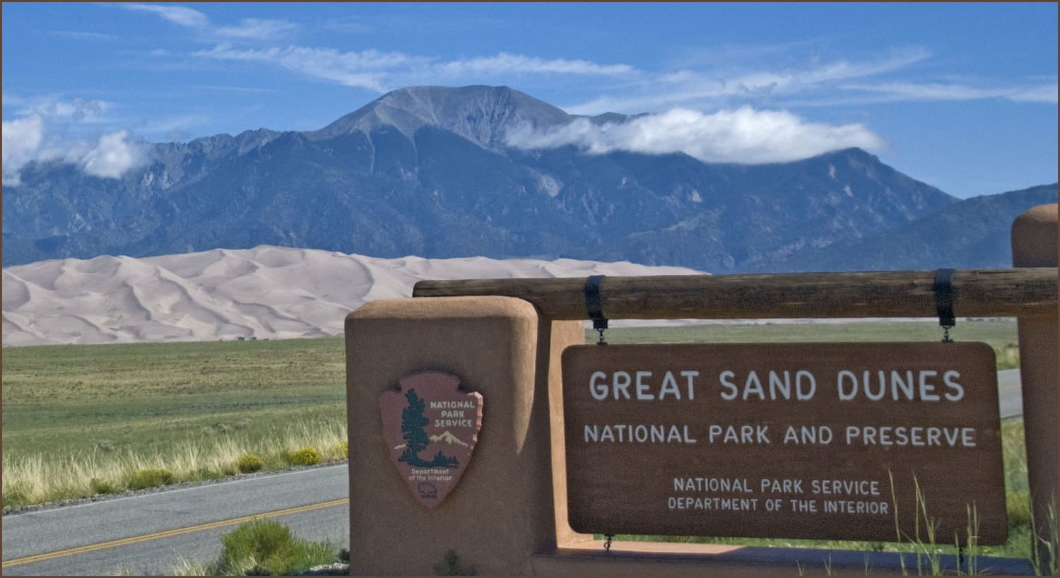 Colorado National Park Road Trip - Great Sand Dunes Sign