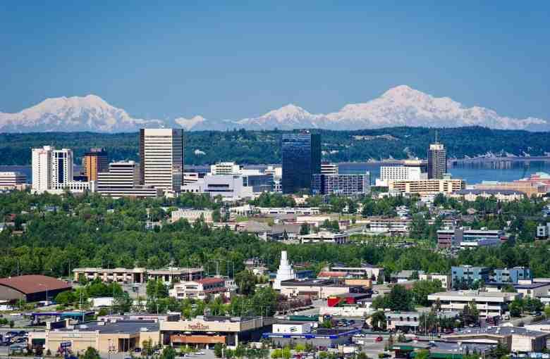 Anchorage Skyline Ken Graham Photography