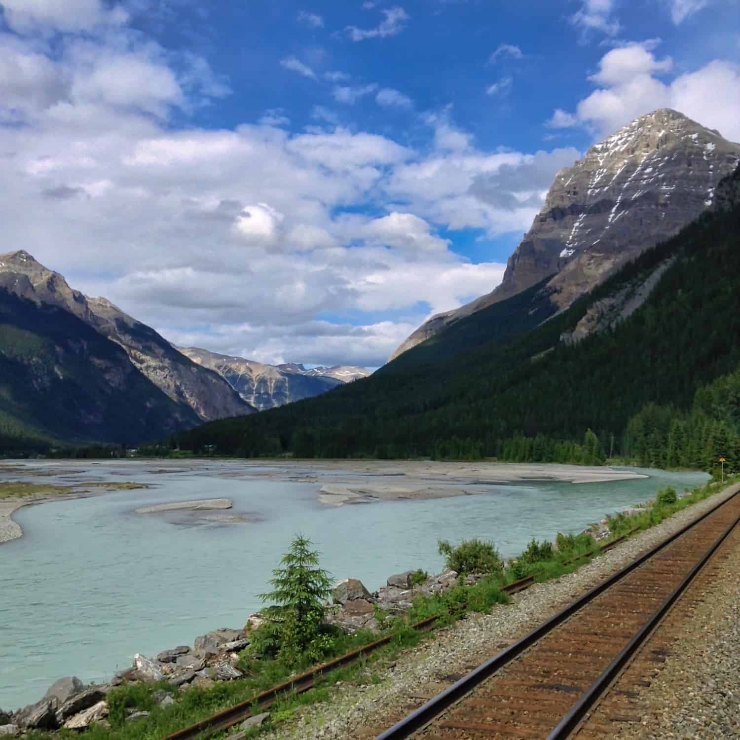 Rocky Mountaineer - Spiral Tunnels