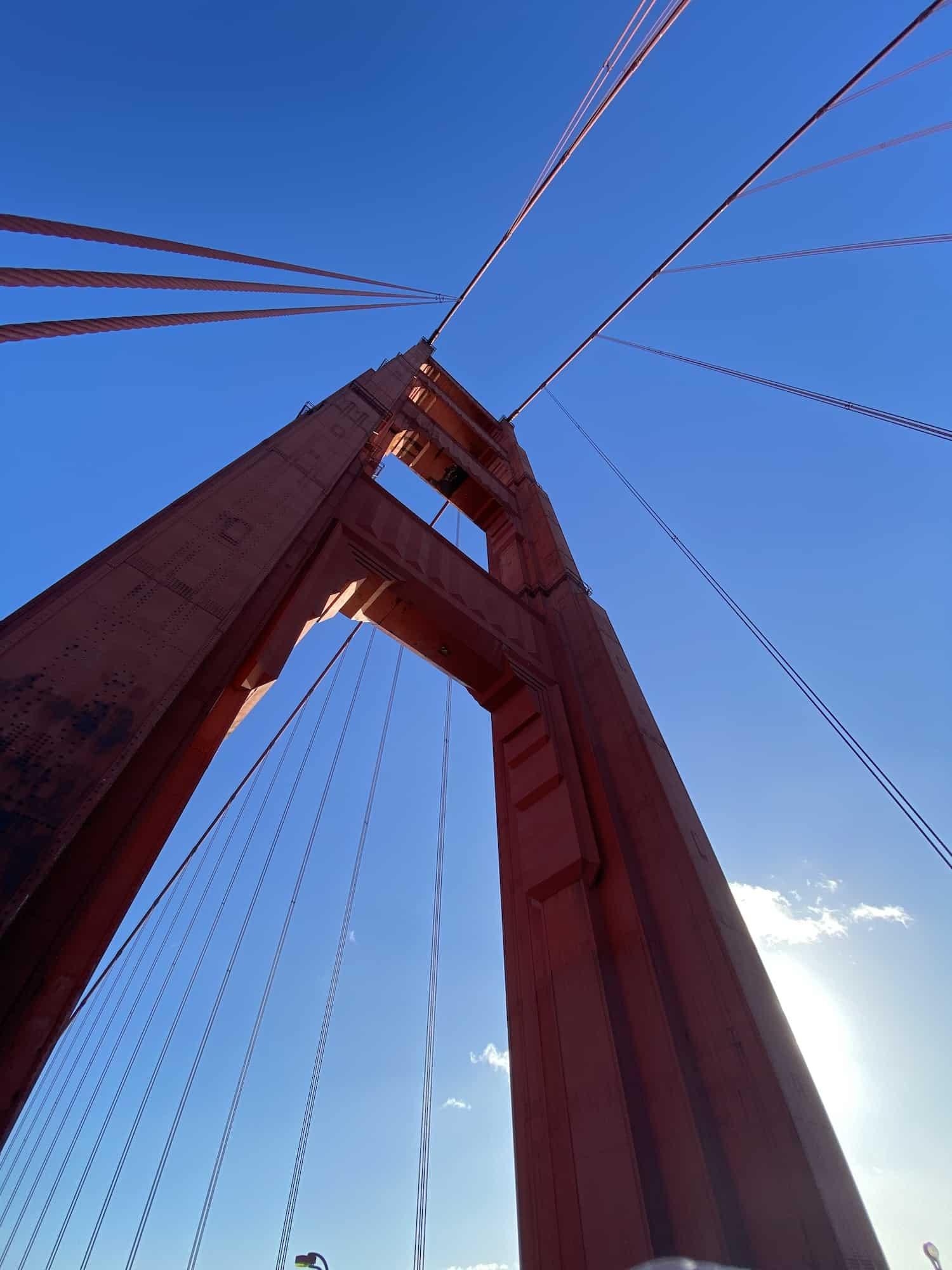 California Bucket List - Walk Across Golden Gate Bridge