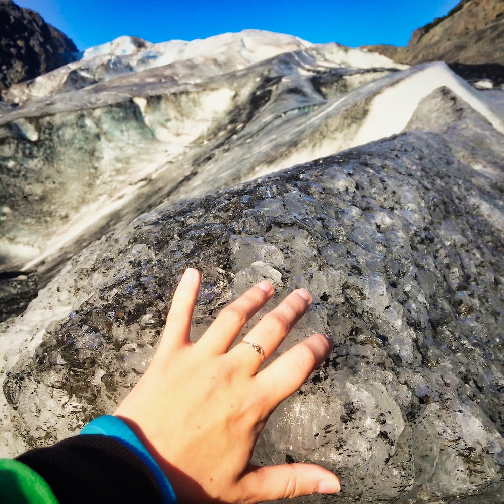 Exit Glacier - Valerie and Ice