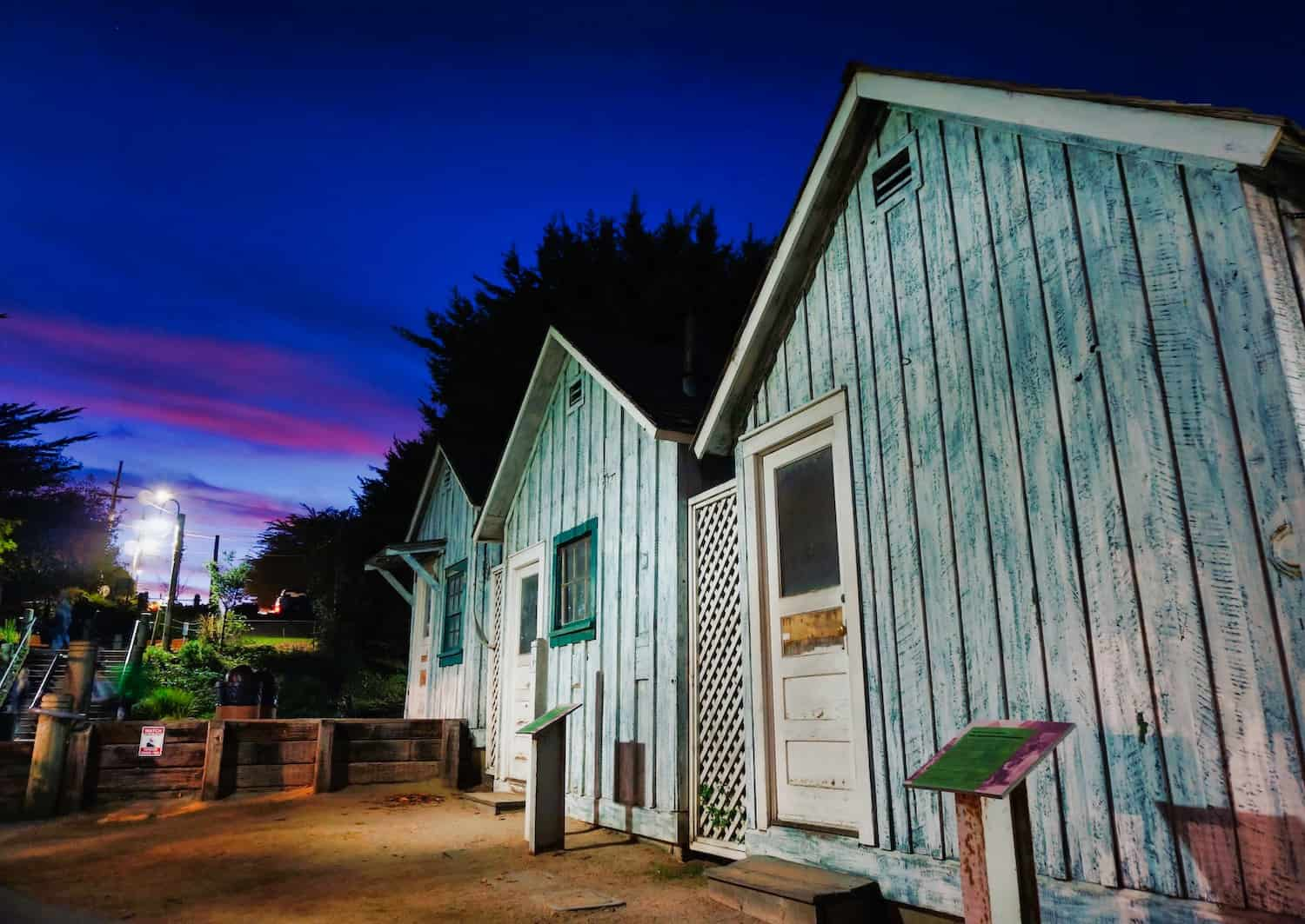 Cannery Row Worker Shacks in Monterey