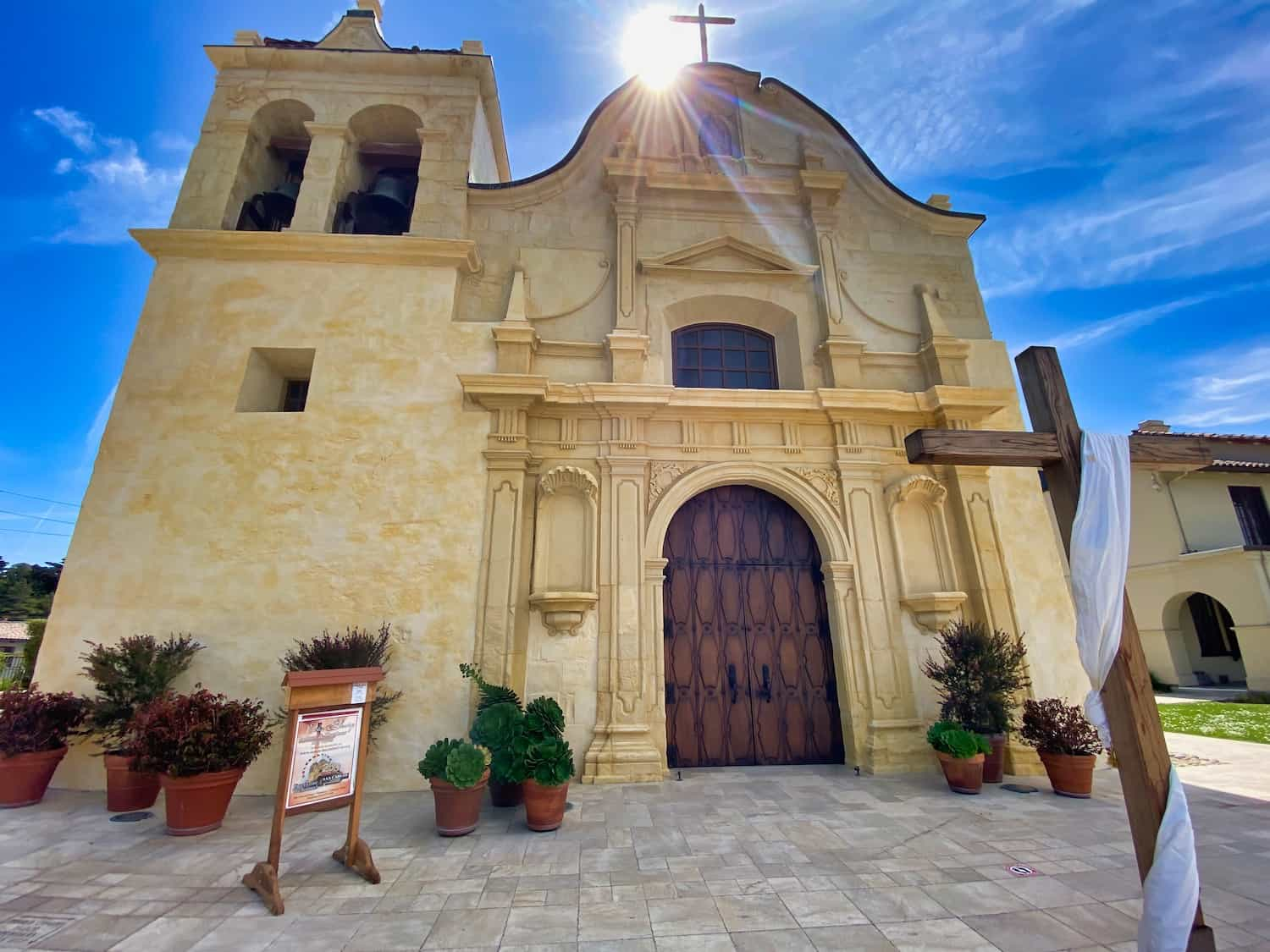 The Mission in Monterey