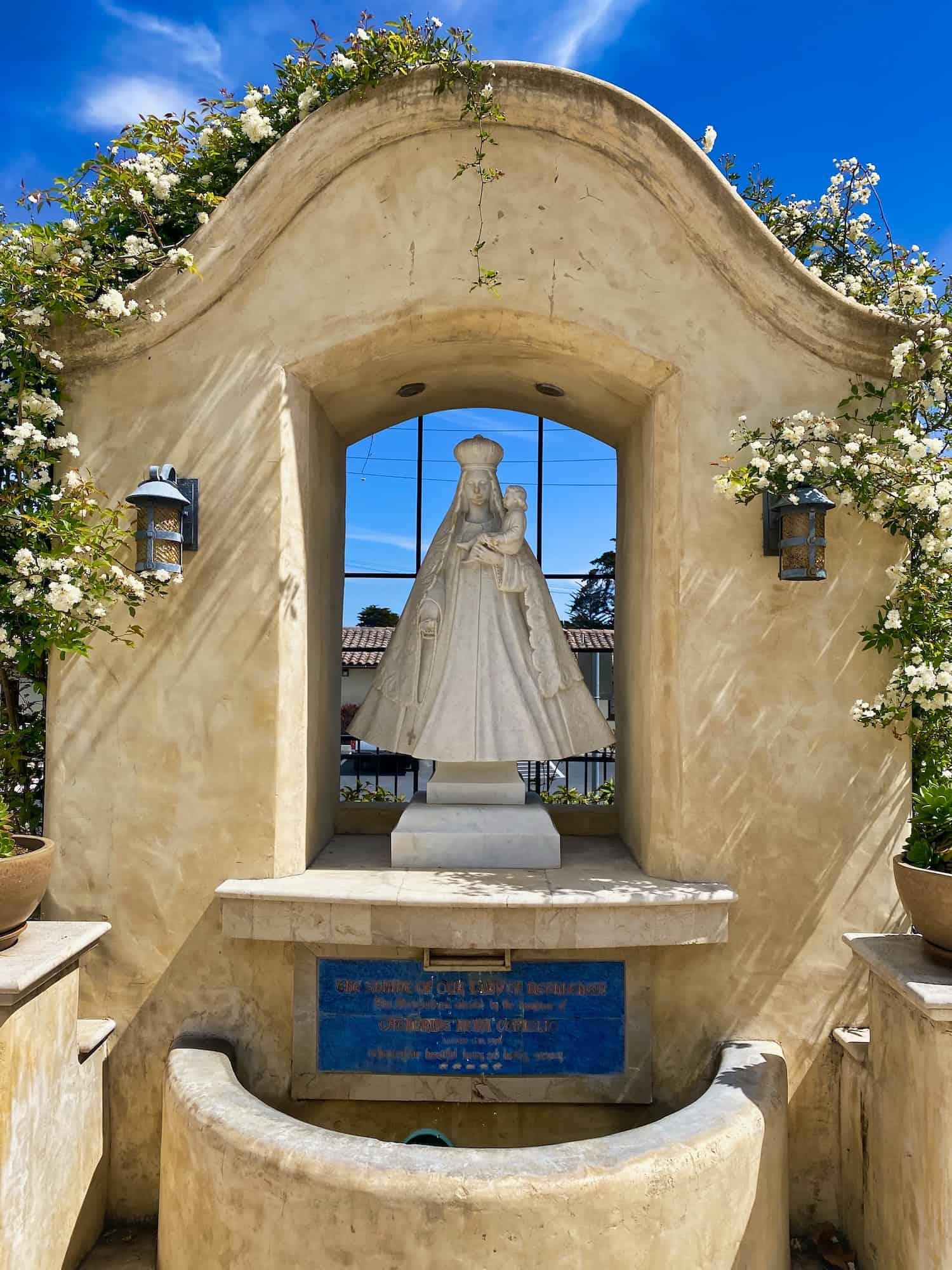 Shrine at Monterey Mission