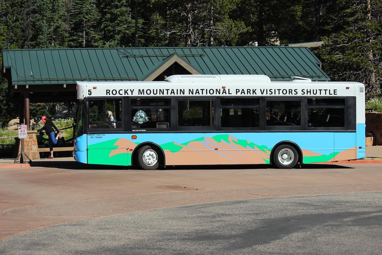 Rocky Mountain National Park - Shuttle Bus