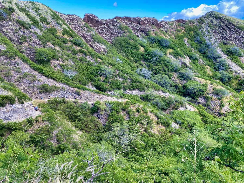 Oahu, Hawaii - Diamond Head Trail