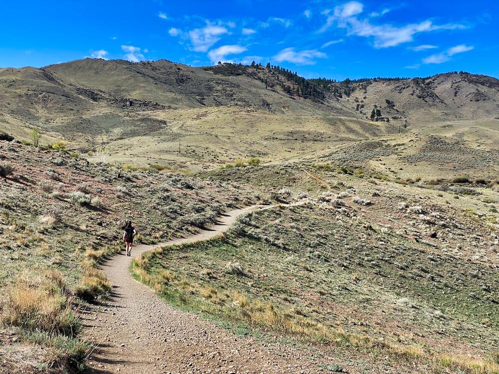 3 Days in Reno - Valerie Hiking