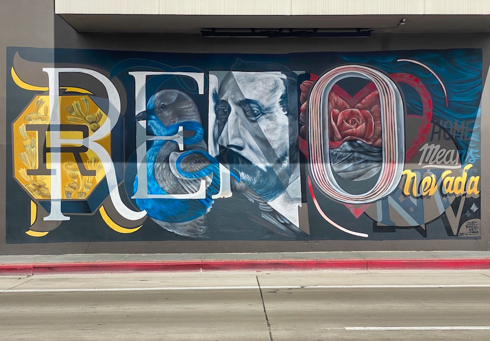 3 Days in Reno - Street Art