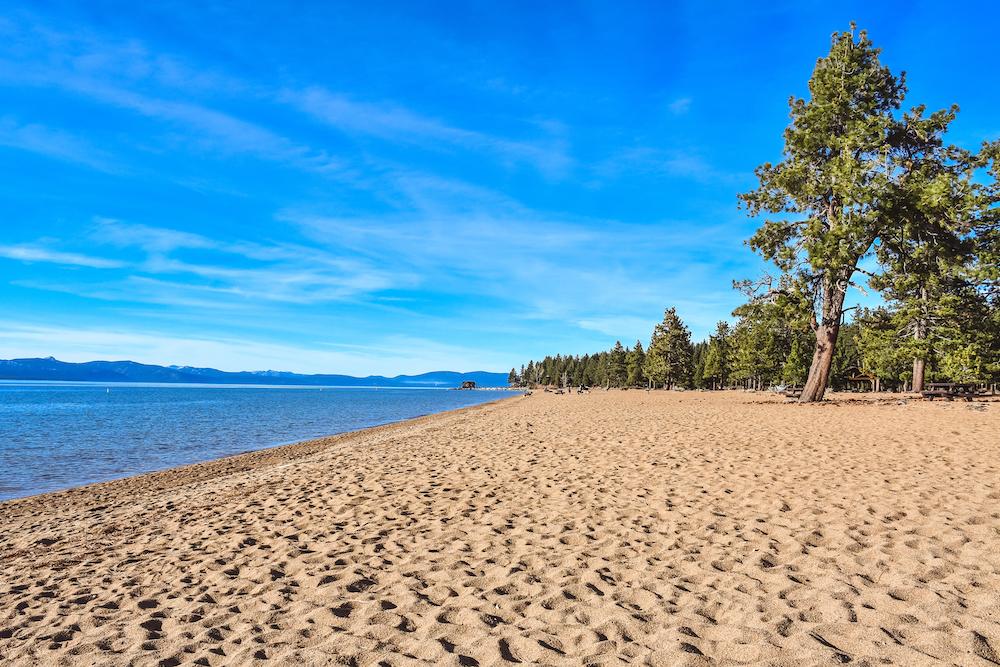 Reno Weekend - Lake Tahoe Beach