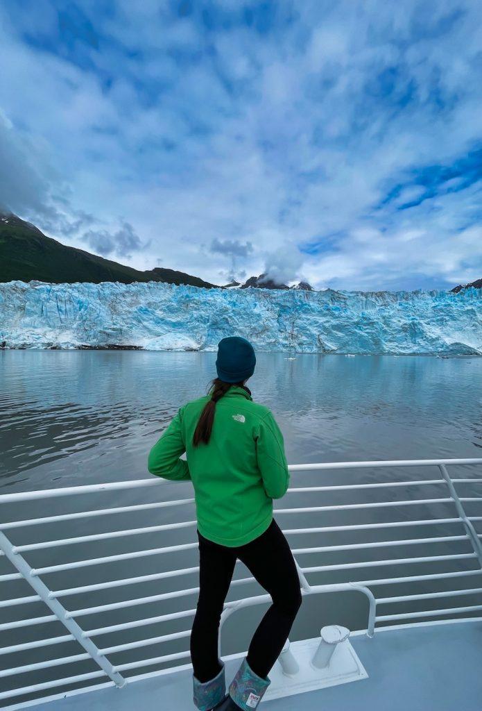 John Hall's Alaska Review - Day 1 - Cruise to Valdez at Mears Glacier