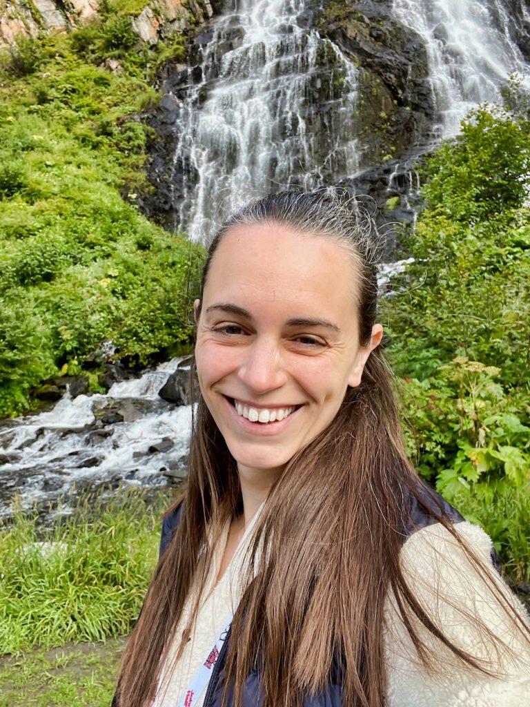 John Hall's Alaska Review - Day 2 - Keystone Canyon Waterfall