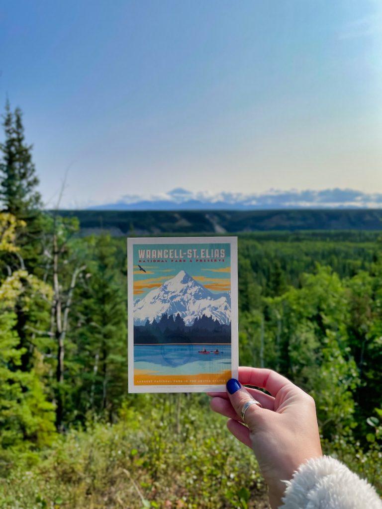 John Hall's Alaska Review - Day 2 - Wrangell-St. Elias Postcard