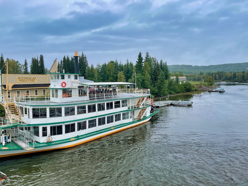 John Hall's Alaska Review - Day 3 - Riverboat Discovery and Camp