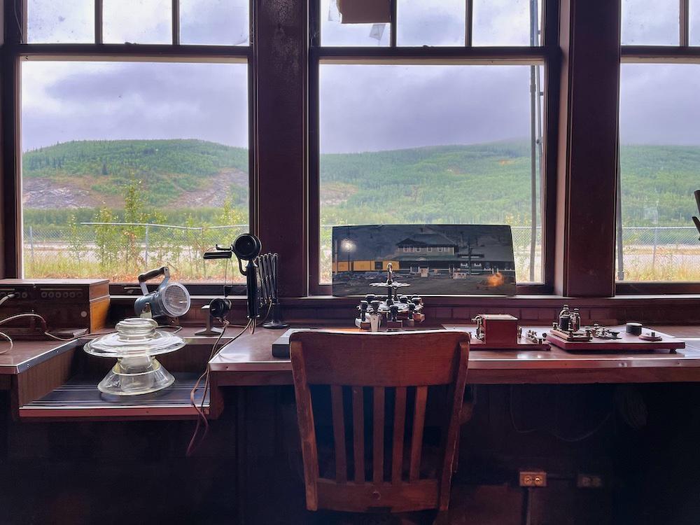 John Hall's Alaska Review - Day 4 - Nenana Railroad Museum