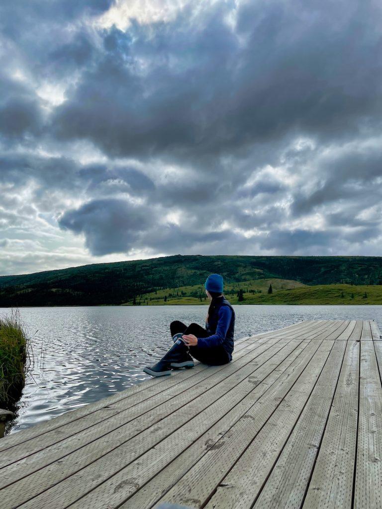 John Hall's Alaska Review - Day 5 - Wonder Lake Dock