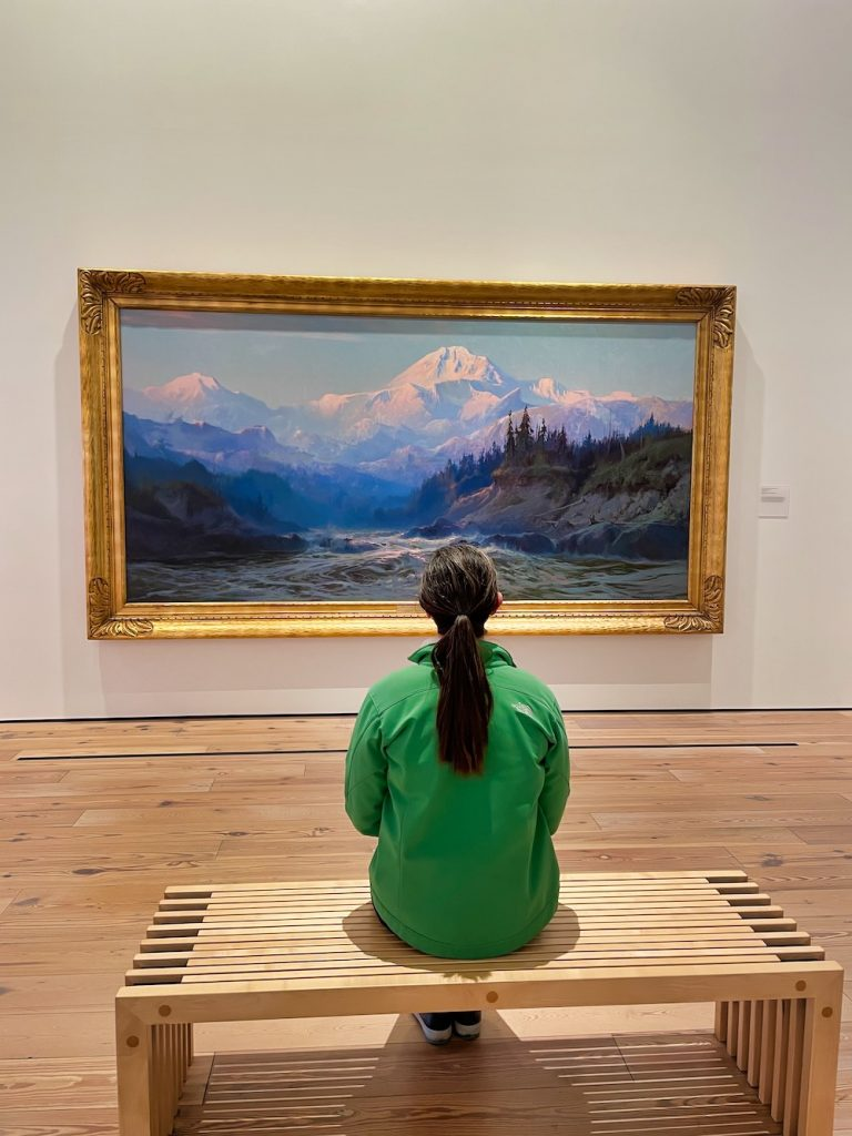 John Hall's Alaska Review - Day 7 - Anchorage Museum Portrait